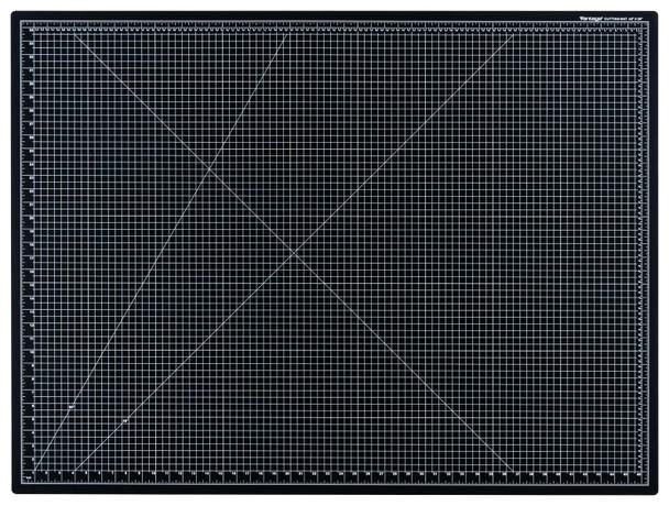 "Vantage® 36"" x 48"" Self-Healing Cutting Mat (Black)"