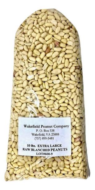 Wakefield Virginia XL Blanched Peanuts, Premium Grade, 10 lbs