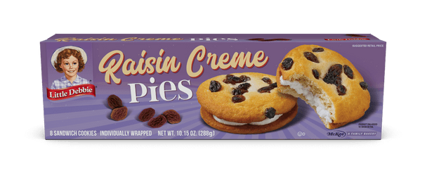 Little Debbie Raisin Creme Pies