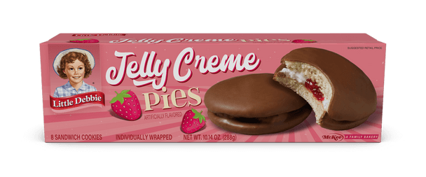 Little Debbie Jelly Creme Pies