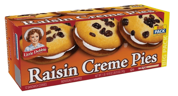 Little Debbie Big Pack Raisin Creme Pies