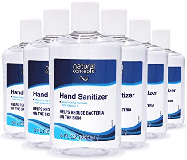6-pack of 8oz hand sanitizers