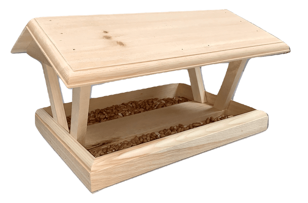 "Wakefield Premium Bird Houses Cottage Platform Bird Feeder, 10.5"" x 18"" x 13.25"""
