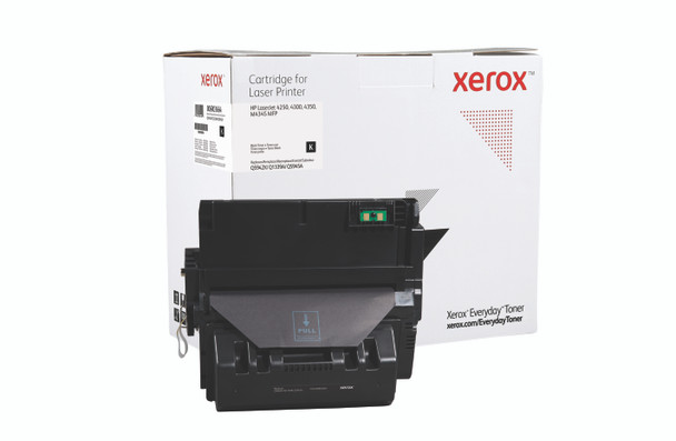 Black Extra High Yield Everyday Toner from Xerox, replacement for HP Q5942X, Q1339A, Q5945A Yields 30,000 pages