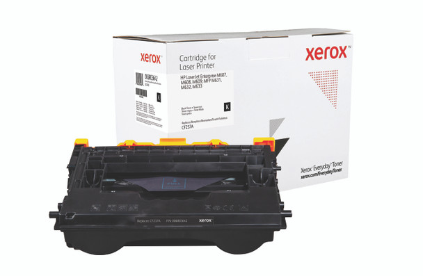 Black Standard Yield Everyday Toner from Xerox, replacement for HP CF237A Yields 11,000 pages
