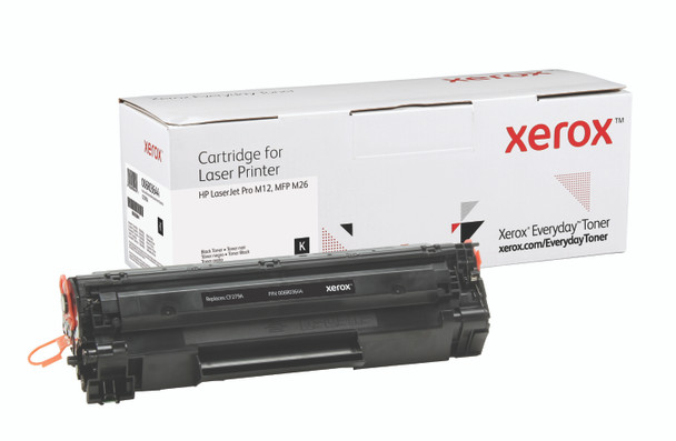 Black Standard Yield Everyday Toner from Xerox, replacement for HP CF279A Yields 1,000 pages