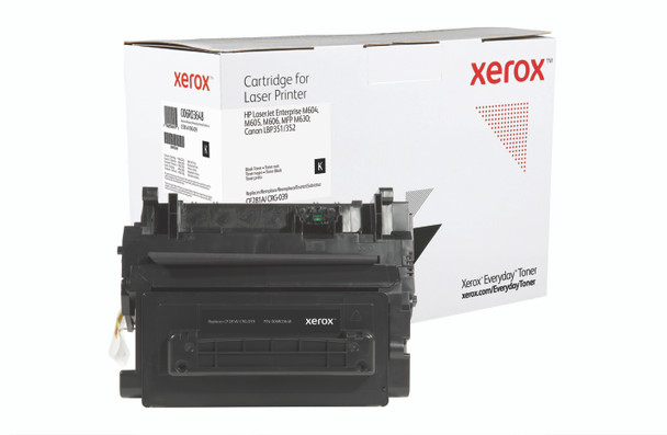Black Standard Yield Everyday Toner from Xerox, replacement for HP CF281A, Canon CRG-039 Yields 10,500 pages