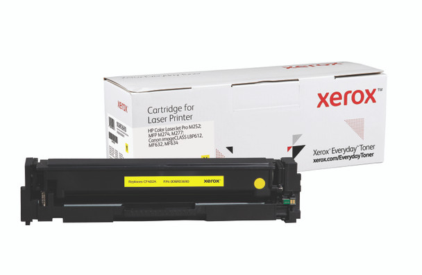 Everyday HP Color Toner CF402A Yellow Toner Standard Yield; Canon CRG-045 Yellow