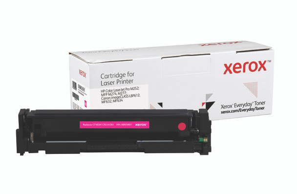 Magenta Standard Yield Everyday Toner from Xerox, replacement for HP CF403A, Canon CRG-045M Yields 1,400 pages