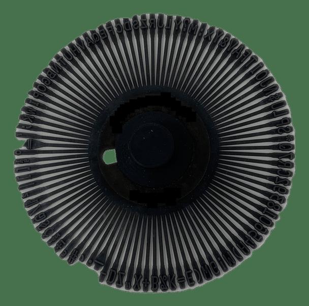 Canon Pica 10 Printwheel by Rarotype