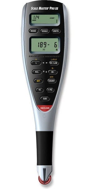 Front face of the Scale Master Pro XE