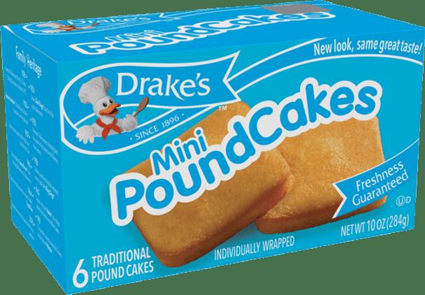 Drake's Mini Pound Cakes