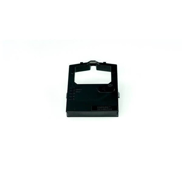 Front view of GRC T407 OKIDATA 52102001 BLACK NYLON RIBBON REPLACEMENT FOR MICROLINE 320/321 PRINTERS