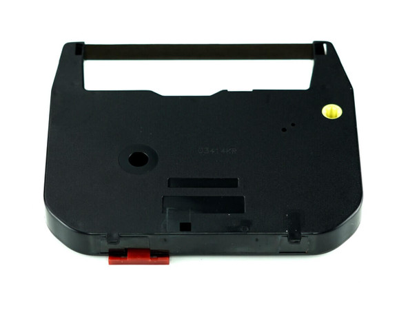 Front view of GRC T306 SHARP ZX-3CS2  replacement BLACK CORRECTABLE RIBBON