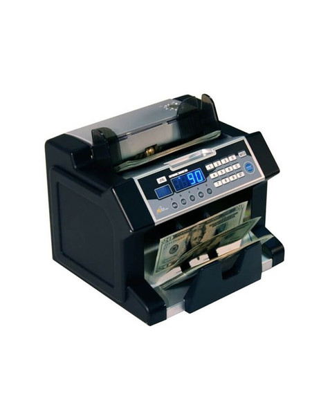 Side view of Royal Sovereign RBC-3100 Electric Cash Counter