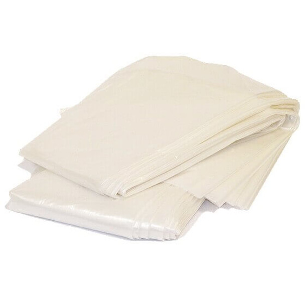 MBM 922 Shred Bag with paper shreddings for use in the MBM 4107 and 4109 shredders. Shows tear resistance of bag