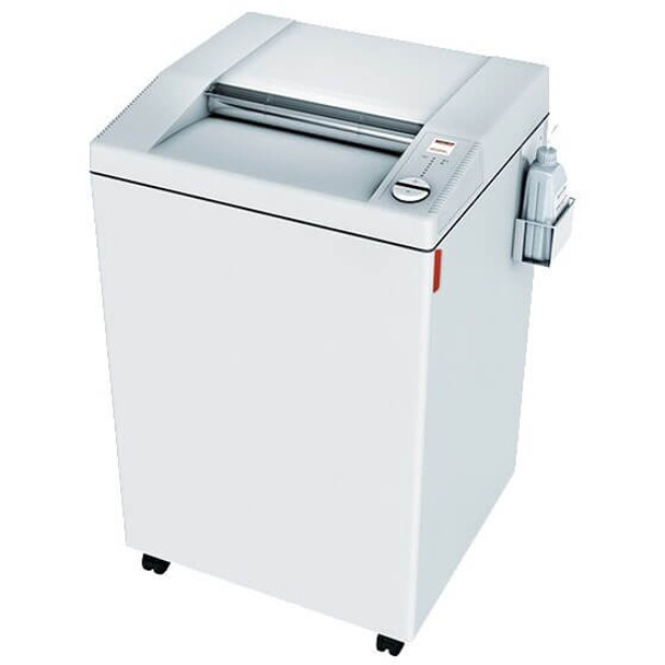 Front view of MBM Destroyit 4005 Super Micro Cut Shredder