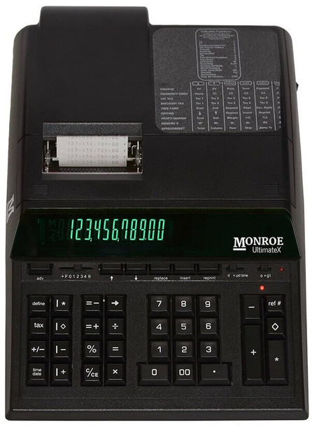 Monroe UltimateXB Printing Calculator