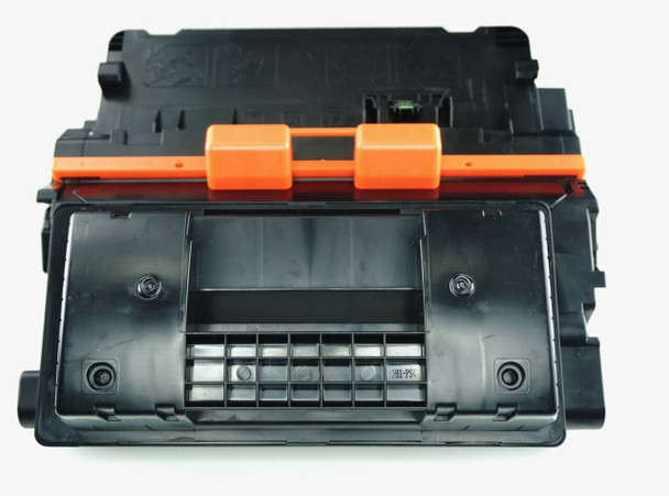 This is the front view of the HP 90X replacement laserjet toner cartridge by NXT Premium toner
