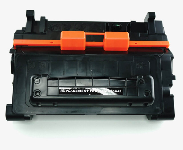 This is the front view of the HP 64A replacement laserjet toner cartridge by NXT Premium toner
