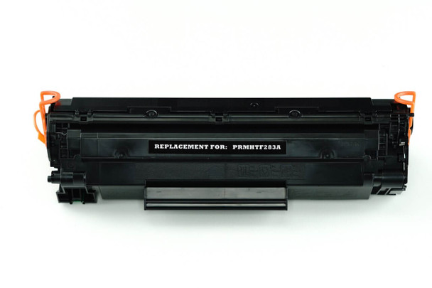 This is the front view of the HP 83A replacement laserjet toner cartridge by NXT Premium toner