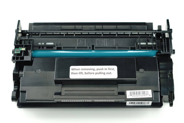 This is the front view of the HP 26X replacement laserjet toner cartridge by NXT Premium toner
