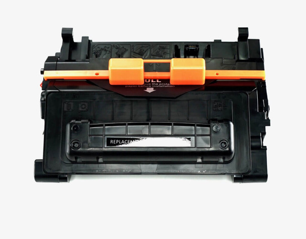 This is the front view of the HP 81A replacement laserjet toner cartridge by NXT Premium toner