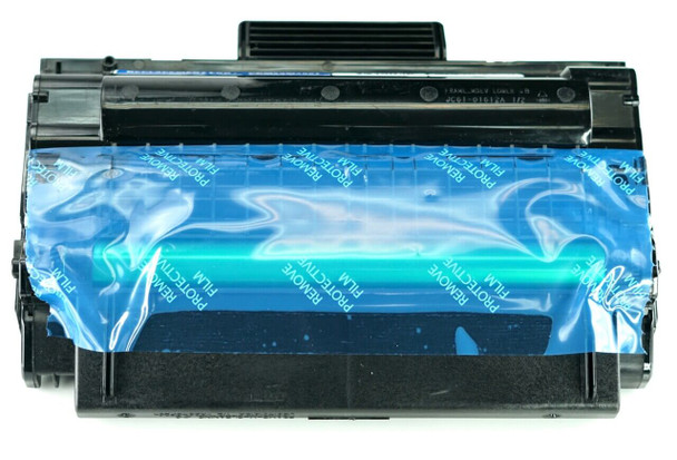 This is the front view of the Samsung MLT-D206L black replacement laserjet toner cartridge by NXT Premium toner