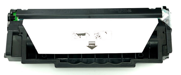 This is the front view of the Hewlett Packard 49A replacement laserjet toner cartridge by NXT Premium toner