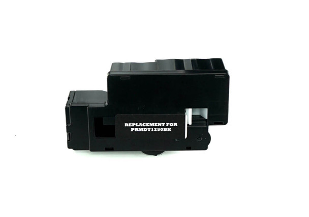 This is the front view of the Dell C1760NW black replacement inkjet cartridge by NXT Premium toner