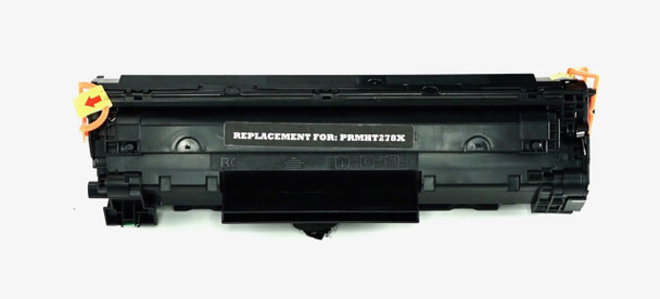 This is the front view of the Hewlett Packard 78X black replacement laserjet toner cartridge by NXT Premium toner