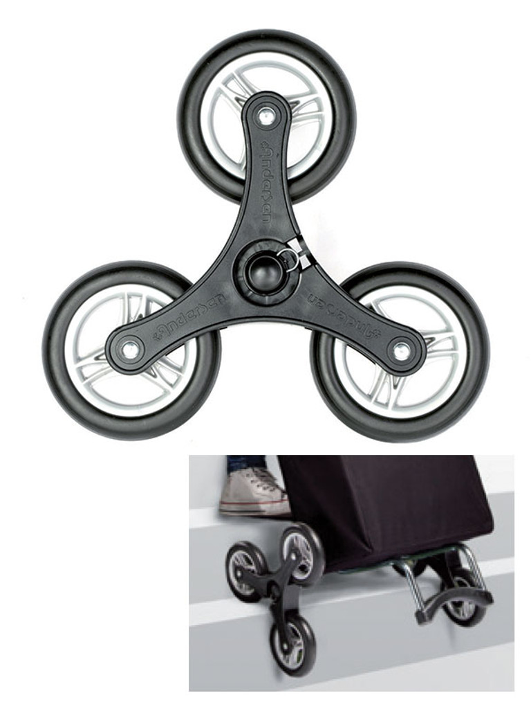 Raizer Accessory - Triple wheel for Trolley