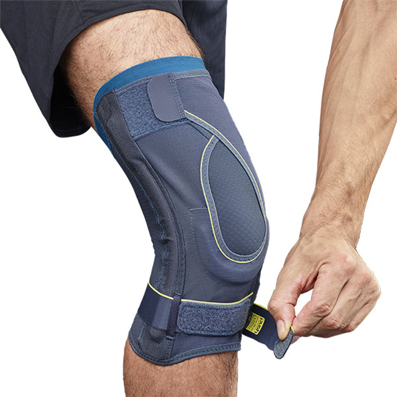 Push Sports Medical Knee Brace with non-axial leaf springs