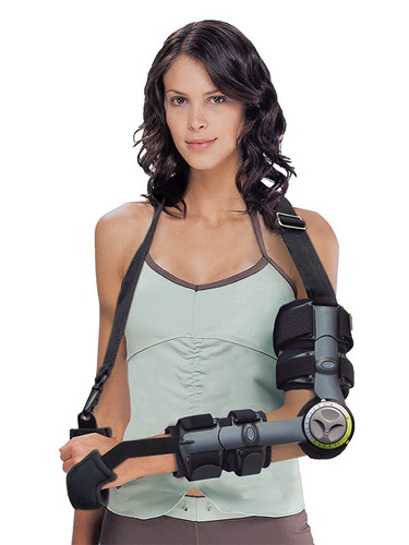Length Adjustable ROM Elbow Brace