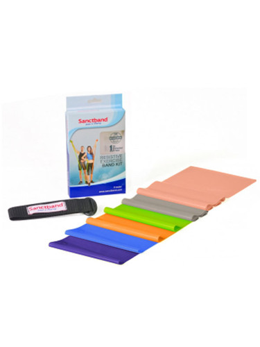Sanctband Resistive Exercise Band Kit 2m