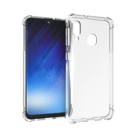 Clear Anti Burst Case For Galaxy A20