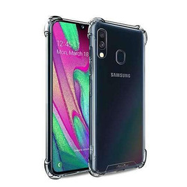 Clear Anti burst Case For Galaxy A40