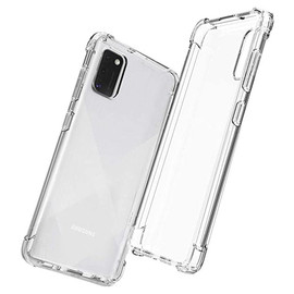 Clear Anti burst Case For Galaxy A41