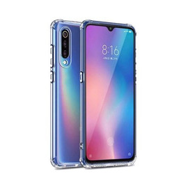 Clear Anti burst case for Galaxy A50