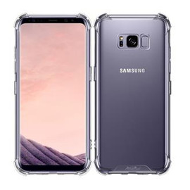 Clear Anti burst Case For Galaxy S8
