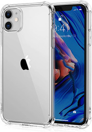Clear Anti burst Case For iPhone 11