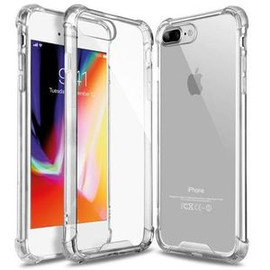 Clear Anti Burst Case For iPhone 7+/8+