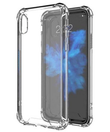 Clear Anti Burst Case For iPhone X/Xs
