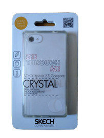 Crystal Clear Case for Xperia Z5 Compact