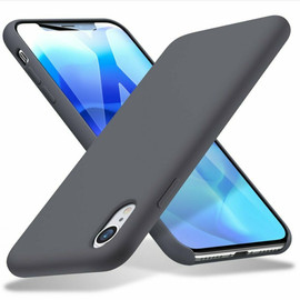 Yippee Silicone Case For iPhone XR Soft Liquid Soft Microfiber Lining