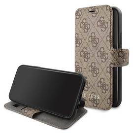 4G Collection Stand Book Case for iPhone 11 Pro in Brown