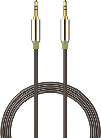 1m Mesh Armour Auxiliary Cable