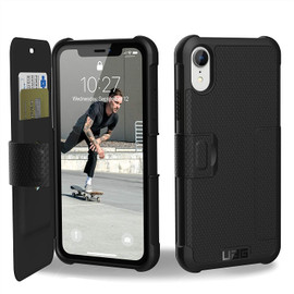 Metropolis Rugged Wallet Case for iPhone XR