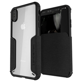 Exec 3 Flip Card Wallet Case for iPhone XS Max