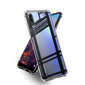 Clear Anti Burst case for Huawei P20